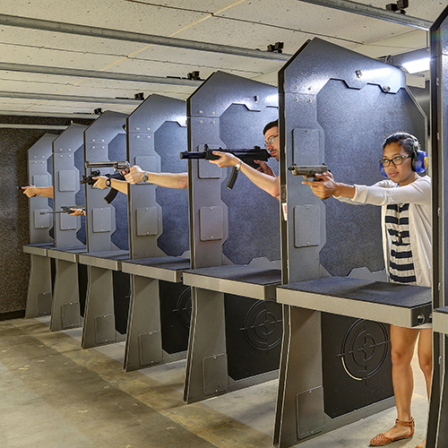 Not Your Typical Day At The Range